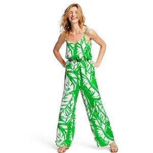 🆕😍 Lilly Pulitzer leaf palm jumpsuit